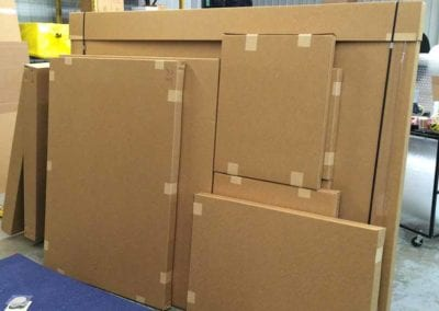 fine art packing and shipping services